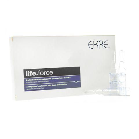Ekre Life Force Ампули за коса против косопад 10 ампули x8 мл