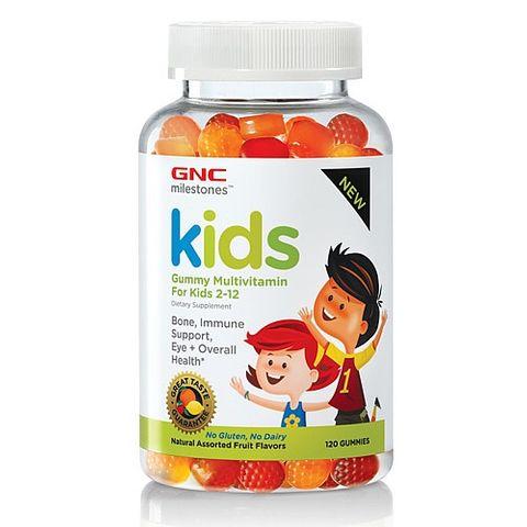 GNC Kids Мултивитамини за деца от 2 до 12 години x120 желирани таблетки
