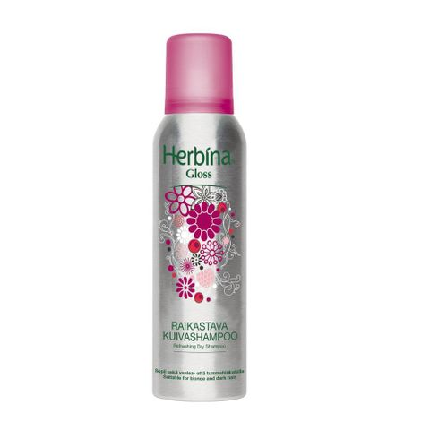 Herbina Сух шампоан за коса за обем и блясък x200 мл