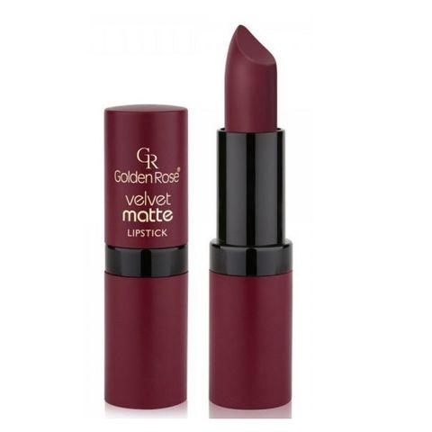 Golden Rose Velvet Matte Червило за устни с матов финиш, 32
