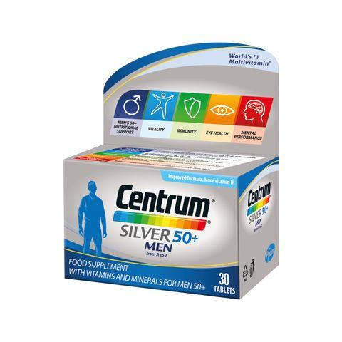 Центрум Силвър за мъже на възраст 50+ х30 таблетки