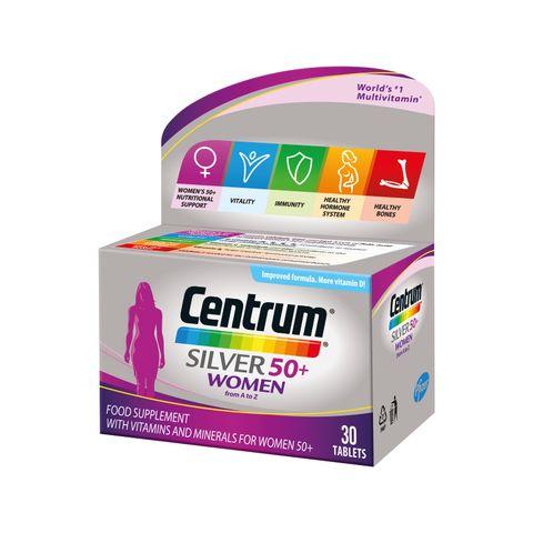 Центрум Силвър за жени на възраст 50+ х30 таблетки