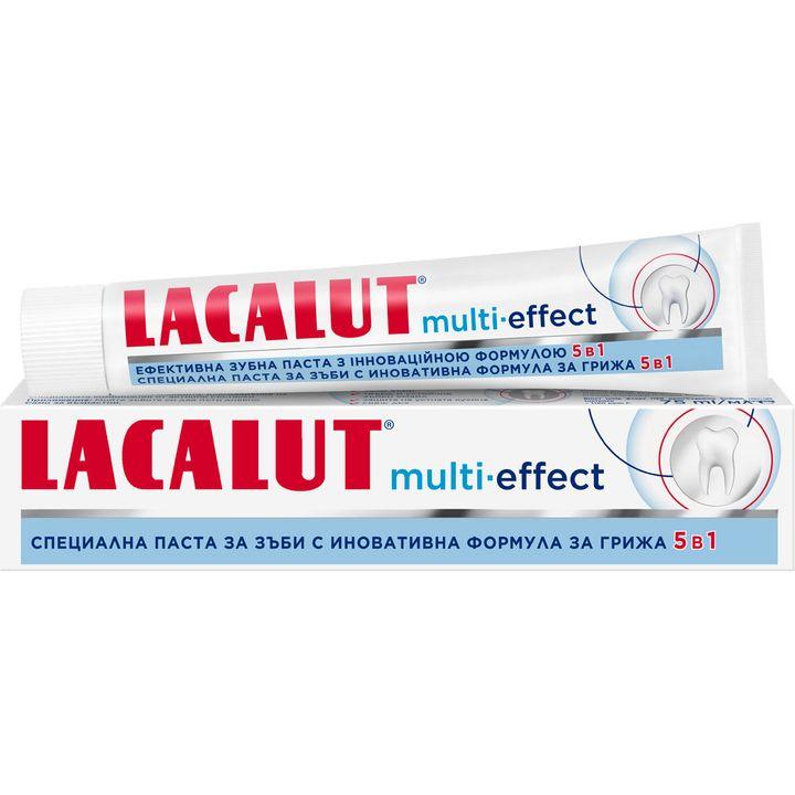Lacalut Паста за зъби с мулти ефект х75 мл