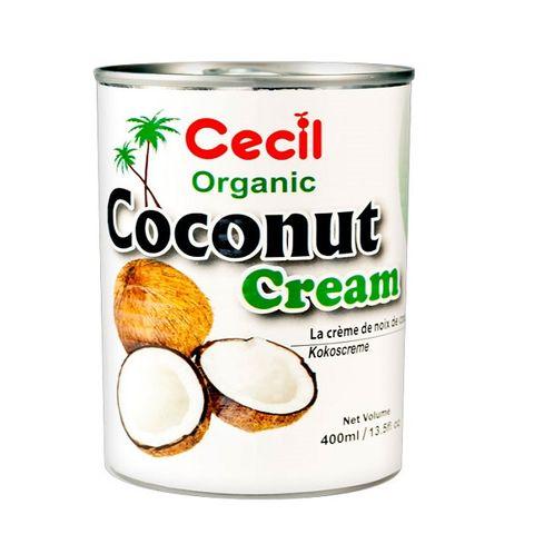 Cecil Organic Coconut cream x400 милилитра