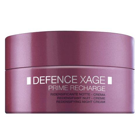 Bionike Defence Xage Prime Recharge Стягащ нощен крем за лице за чувствителна кожа x50 мл