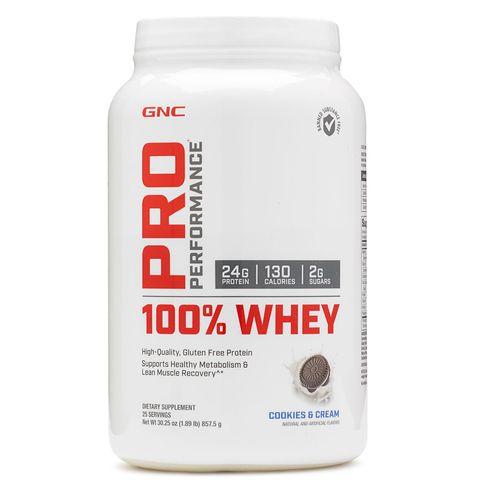GNC Pro Performance 100% Whey Суроватъчен протеин с вкус на бисквитки и крем х857,5 грама