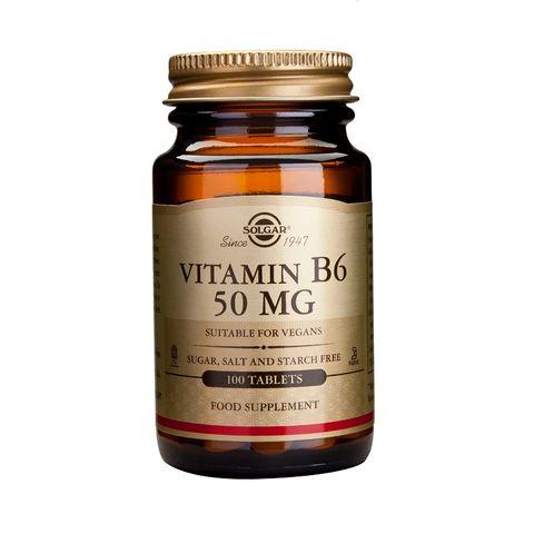 Solgar Витамин В6 50мг х100 таблетки