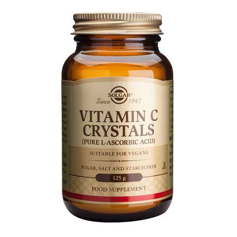Solgar Витамин С Кристали на прах за висок имунитет х125 грама