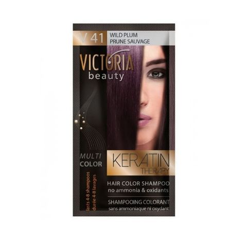 Victoria Multi Color Шампоан-оцветител за коса, цвят V41 Wild Plum х40 мл