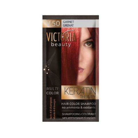 Victoria Multi Color Шампоан-оцветител за коса, цвят V50 Garnet х40 мл