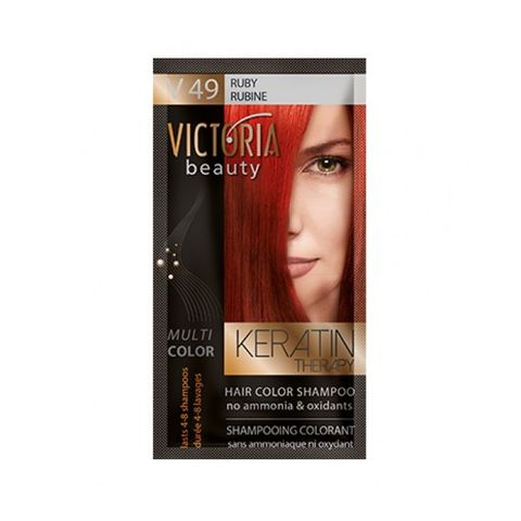 Victoria Multi Color Шампоан-оцветител за коса, цвят V49 Ruby х40 мл