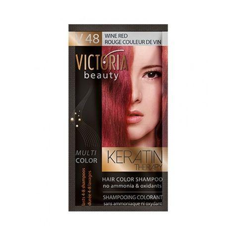 Victoria Multi Color Шампоан-оцветител за коса, цвят V48 Wine Red х40 мл