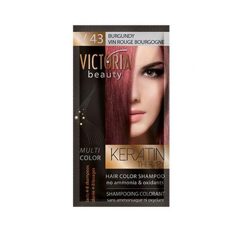 Victoria Multi Color Шампоан-оцветител за коса, цвят V43 Burgundy х40 мл