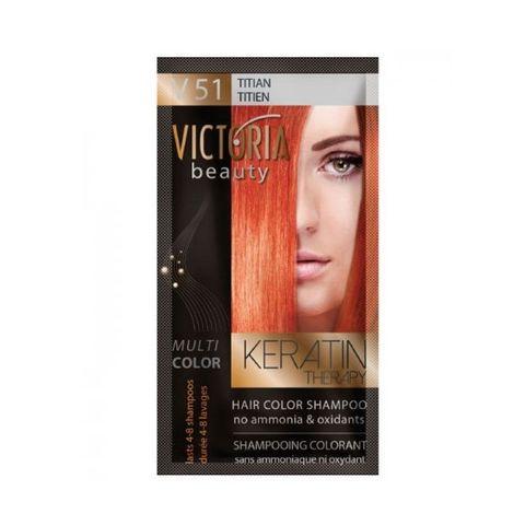 Victoria Multi Color Шампоан-оцветител за коса, цвят V51 Titian х40 мл