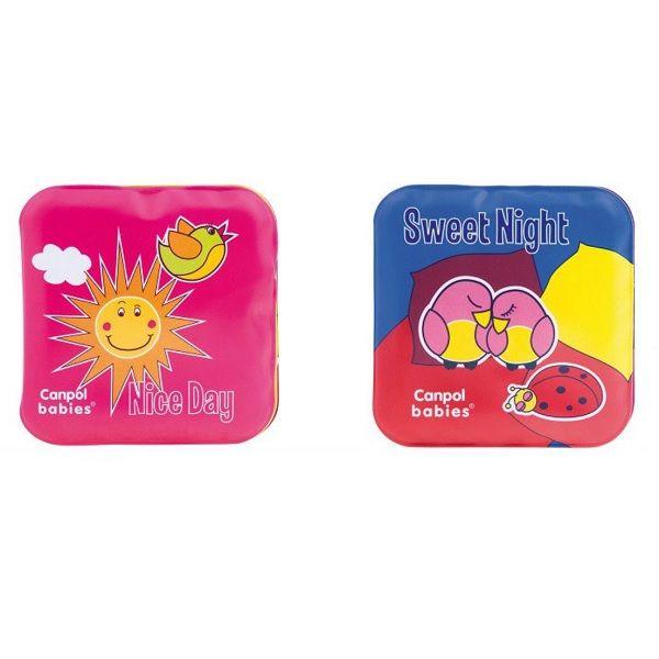 Canpol babies Мека книжка за игра със свирка за деца над 6 месеца x2 броя