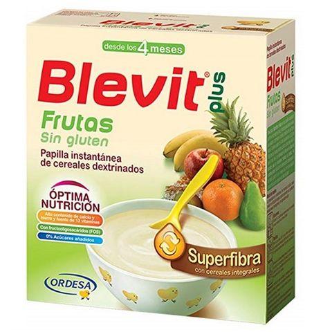 Blevit plus Superfibra Плодова каша с бифидус ефект за деца от 4 месечна възраст x600 грама
