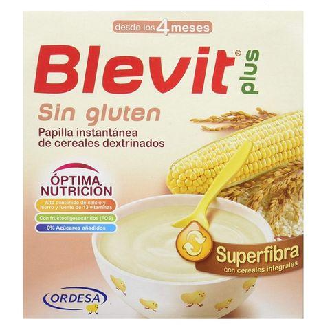 Blevit plus Superfibra Безглутенова каша с бифидус за деца от 4 месечна възраст х600гр