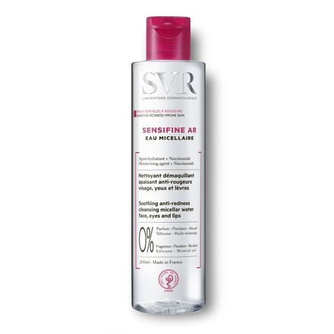 SVR Sensifine AR Почистваща мицеларна вода против зачервявания x200 мл