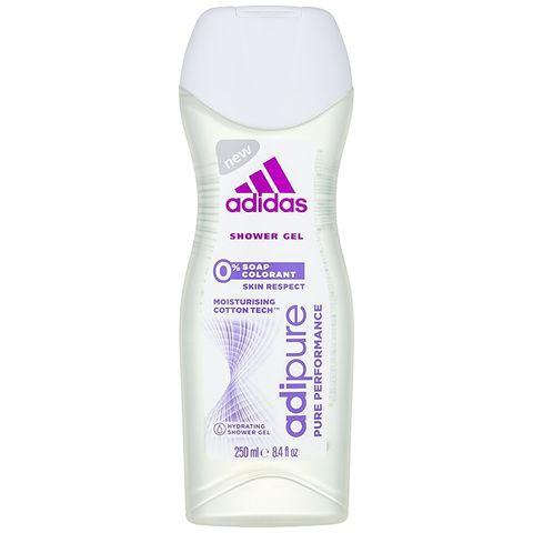 Adidas Adipure Овлажняващ душ гел за жени без сапуни и оцветители х250 мл