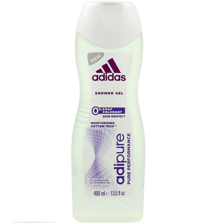 Adidas Adipure Овлажняващ душ гел за жени без сапуни и оцветители х400 мл