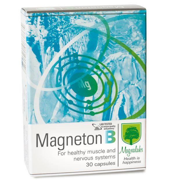 Magnalabs Магнетон Б за здрава мускулна и нервна система х30 капсули