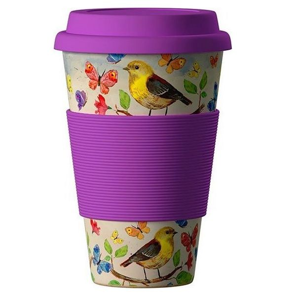 Еко чаша от бамбук, Птици