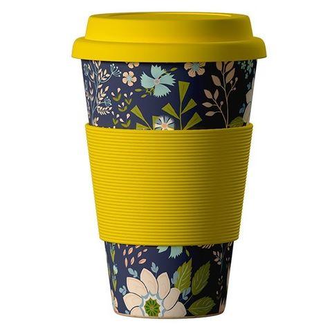 Еко чаша от бамбук, Цветя