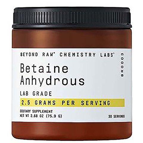 GNC Beyond Raw Chemistry Labs Бетаин Анхидрид пудра х75.9 грама