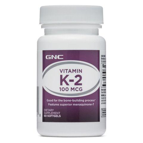 GNC Витамин К-2 за здрави кости и зъби 100мкг х60 капсули