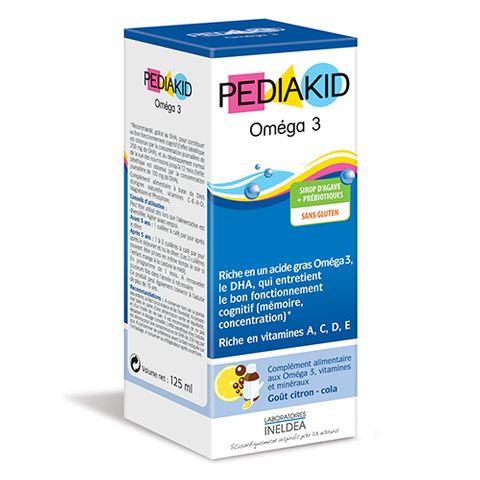 Pediakid Omega 3 Сироп с омега 3 и холин х125мл