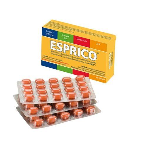 Esprico с портокалов вкус При детска хиперактивност х60 дъвчащи капсули