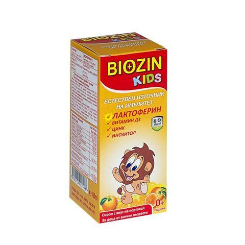 Биозин Кидс Сироп с лактоферин х100 мл BioShield