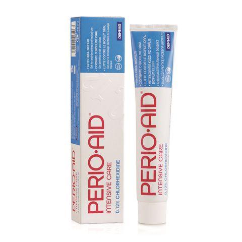 Perio-Aid Intensive Гел за почистване на зъбите с 0.12% хлорхексидин диглюконат x75 мл Dentaid