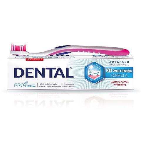 Dental Pro 3D Whitening Избелваща паста за зъби х75 мл