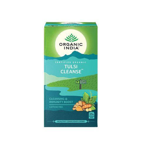 Organic India Tulsi Пречистване за добра детоксикация x18 филтърни торбички