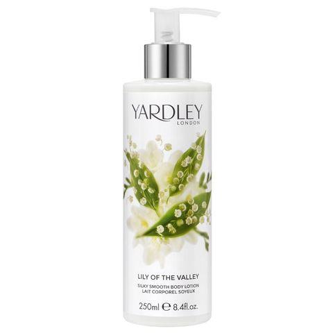 Yardley English Lili of the valley Хидратиращ лосион за тяло с аромат на Момина сълза x250 мл