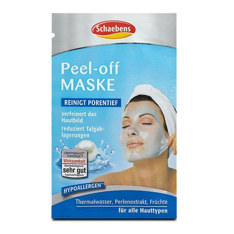 Schaebens Peel - Off Отлепяща маска за лице за всеки тип кожа х15 мл