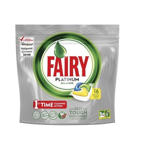 Fairy Platinum Таблетки за съдомиялна машина x16 броя