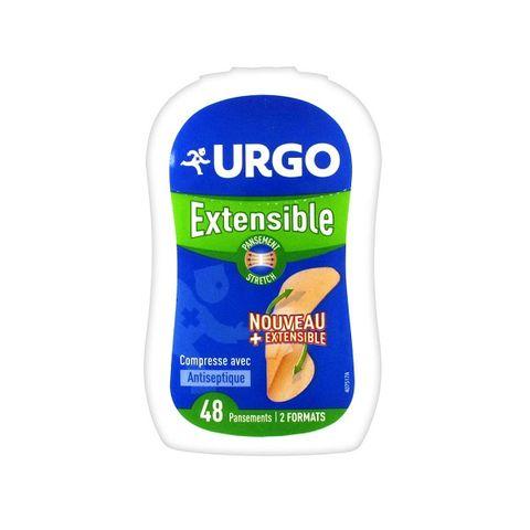 Urgo Мултиразтегаеми пластири с антисептик в 2 размера х48 броя