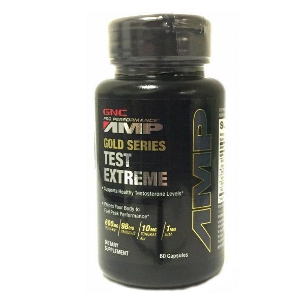 GNC Pro Performance AMP Gold Series Test Extreme За здравословни нива на тестостерона 710 мг х 60 капсули