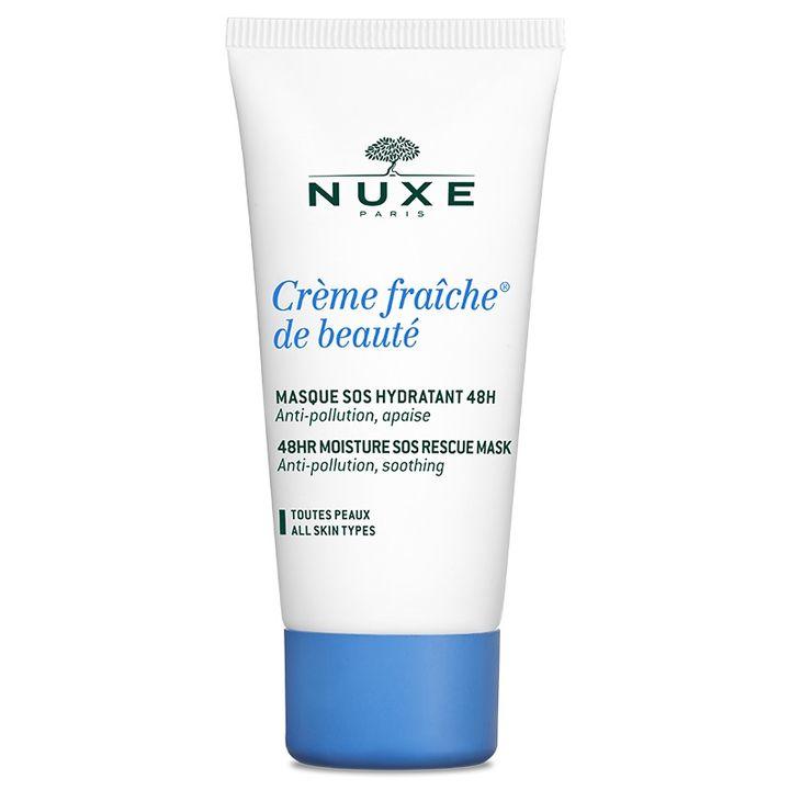 Nuxe Fraiche SOS 48-часова маска за лице за експресна хидратация x50 мл