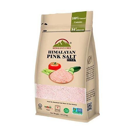 Himalayan Chef Хималайска розова сол фина х454 грама