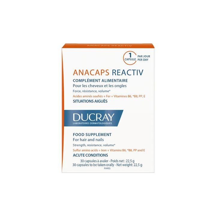 Ducray Anacaps Reactiv За коса и нокти x30 таблетки