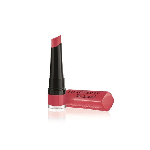 Bourjois Rouge Velvet Matte Дълготрайно матиращо червило, цвят 04 Hip Hip Pink