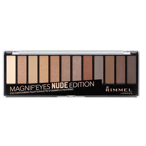 Rimmel Magnif'Eyes Палитра сенки за очи, 001 Nude Edition