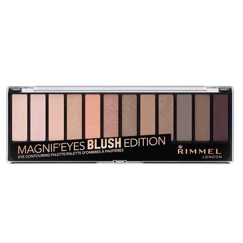 Rimmel Magnif'Eyes Палитра сенки за очи, 002 Blush Edition