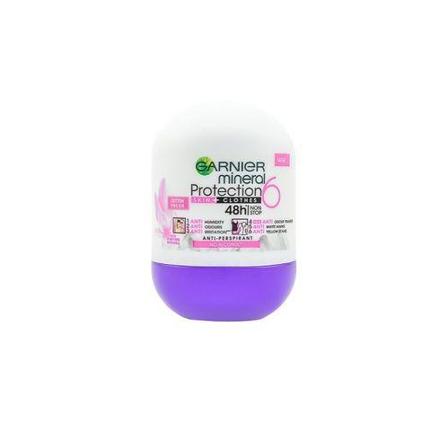 Garnier Mineral Protection 6 Cotton Fresh Рол-он против изпотяване за жени х50 мл