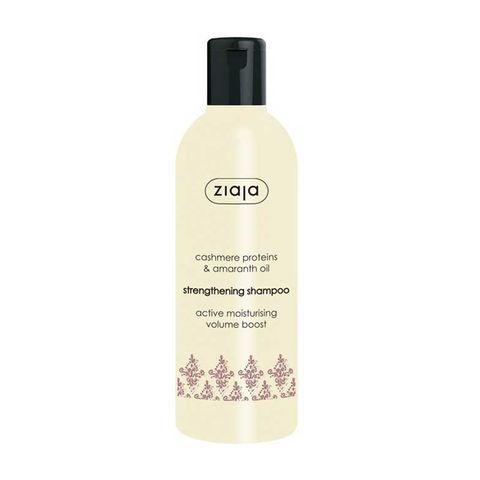 Ziaja Cashmere & Amaranth Подсилващ шампоан за суха коса с кашмир и амарант x300 мл