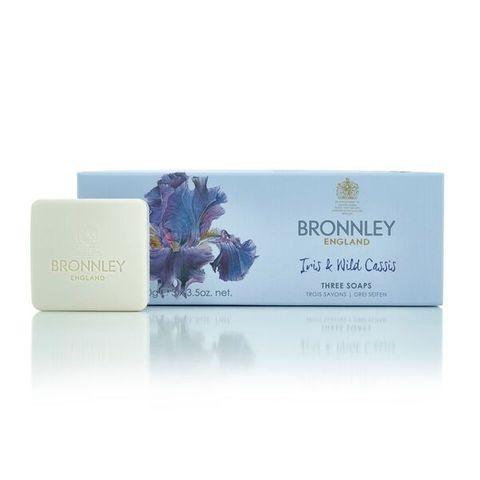Bronnley Iris & Wild Cassis Луксозен сапун с ирис и див касис 3x100 грама