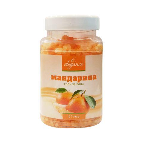 Elegance Соли за вана с аромат на мандарина х380 грама